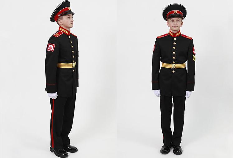 Форма для кадетов полушерсть